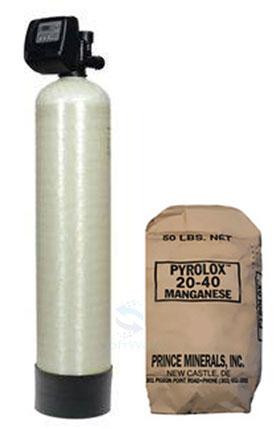 Автоматические установки обезжелезивания Экософт FРР – фильтрующая среда Pyrolox.