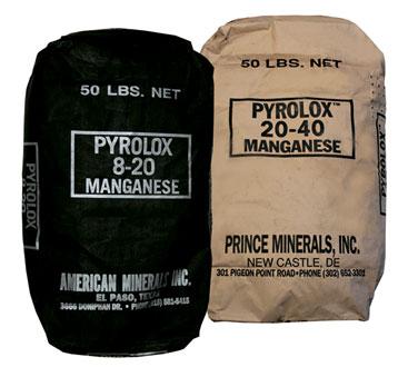 фото PYROLOX - фильтрующая среда для обезжелезивания воды.