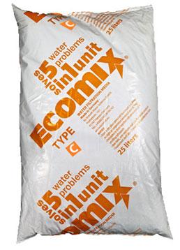 Ecomix С – сорбент для очищення артезіанської води з високим вмістом органічних сполук