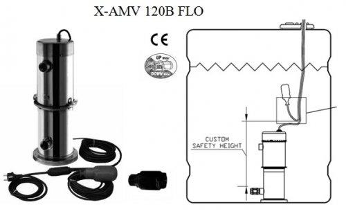Вертикальные многоступенчатые насосы-амфибии Steelpumps X-AMV B