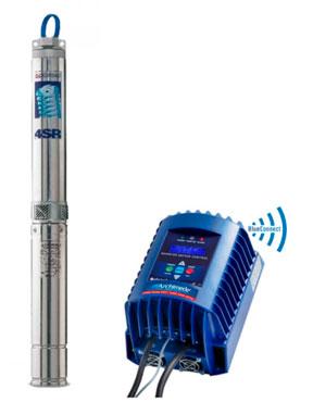 Погружные насосы Pedrollo 4SR со специальным двигателем 3х230В для частотного регулирования скорости насоса