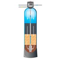 фото Многослойные осадочные фильтры для механического удаления взвешенных частиц и окисленного железа