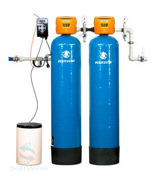Обезжелезивание сложной воды с пропорциональным дозированием гипохлорита натрия