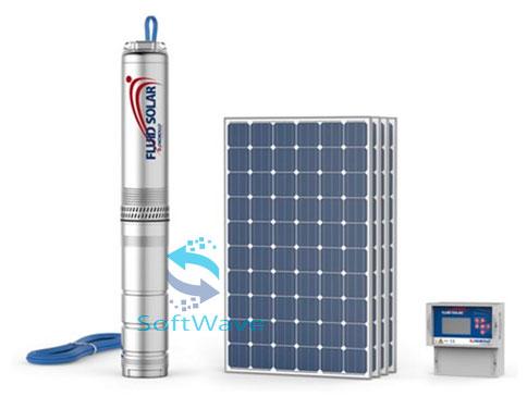 Погружные насосы для скважин на солнечной энергии Pedrollo FLUID SOLAR