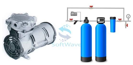 Воздушный компрессор для аэрации воды Air Pump AP-2