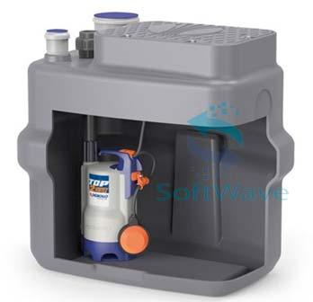 Компактные установки сбора и водоотведения стоков pedrollo sar 100
