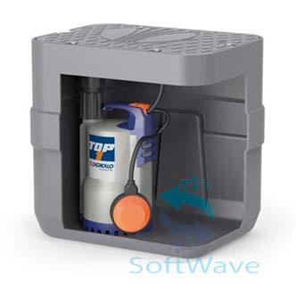 Компактные установки сбора и водоотведения стоков pedrollosar 40