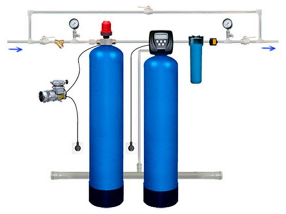 Сорбент МС. Каталитическое окисление и удаление железа, марганца и сероводорода из воды.