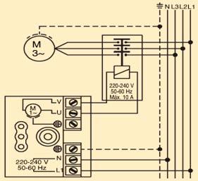 схема подключения контроллера Pedrollo easysmall