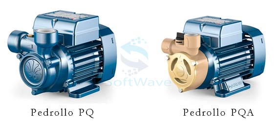 Вихревые насосы Pedrollo PQ (PQA)