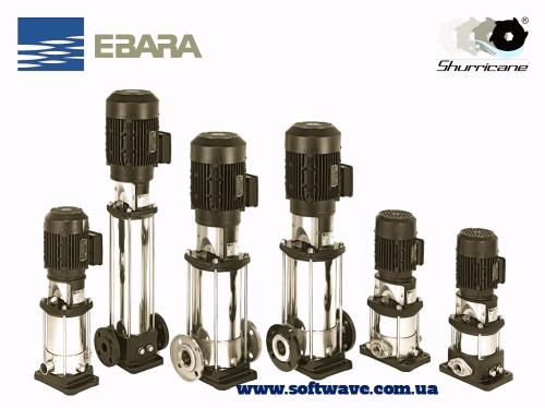 Вертикальные многоступенчатые насосы Ebara EVM