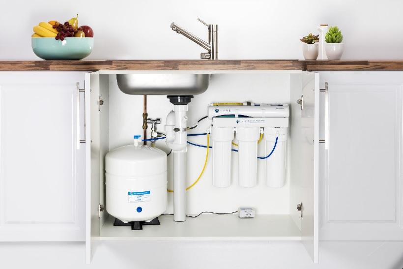 Система обратного осмоса. Получение питьевой воды в доме или квартире.